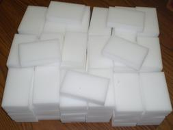 100 BULK PAK Cleaning Magic Sponge Eraser Melamine Cleaner m