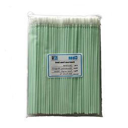 "Optical Lens KJHome 100psc 6.38/"" Foam Cleaning Swabs for Inkjet Printer Cleanroom Gun Optical Equipment Printhead Camera Blue Automotive Detailing"