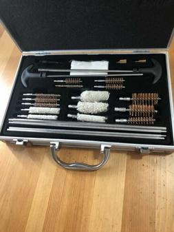 103pc Pro Universal Gun Cleaning Kit Pistol Rifle Shotgun Fi