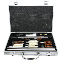 103pc Pro Universal Gun Cleaning Kit Pistol Rifle Shotgun Fi
