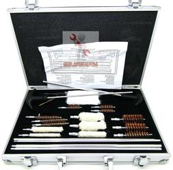 103pc universal gun cleaning kit rifle pistol