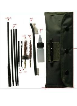 10Pcs 22LR 223 556 Rifle Gun Cleaning Kit Cleaning Rod Nylon