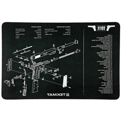 """TekMat 11""""x17"""" Handgun Cleaning Mats 1911 w/FREE TekTowel"""