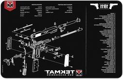 11 x17 handgun cleaning mats 1911 w