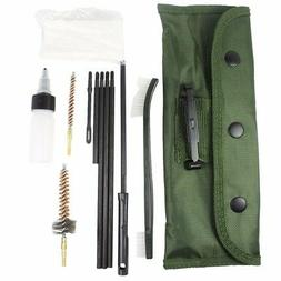11Pcs .223 5.56 Rifle CLEANING KIT with 3 Bronze CHAMBER BRU