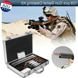 128 pcs outdoor gun barrel cleaning kit