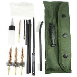 13 PCS .223 5.56 Rifle CLEANING KIT with 3 Bronze CHAMBER BR