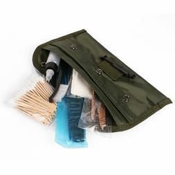 13 PCS Gun Cleaning Kit w/ Universal Brass Chamber Brushes,