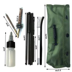 13 PCS Rifle Brush Cleaning Kit with 3 Bronze CHAMBER BRUSHE