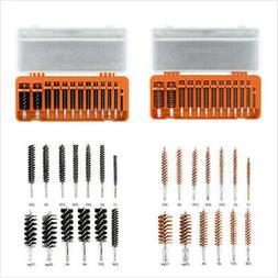 13 pieces bristle gun cleaning bore brush