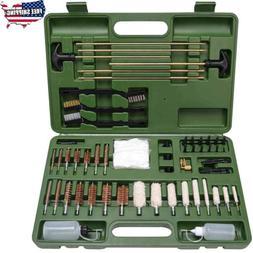 160PCS Gun Cleaning Kit Universal Firearm Brass Rods Bronze