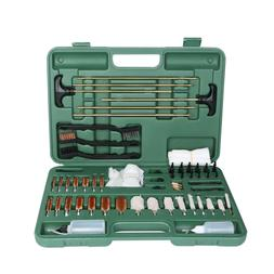 163 PCS Gun Cleaning Kit w/ Pro Plastic Jags and Patch Holde