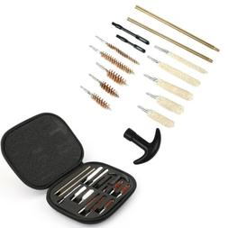 16pcs Pistol Gun Cleaning Kit Universal for .22 38 40 44 45
