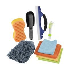 1x Car Cleaning Tools Kit Washing Sponge Cleaning Brush Glov