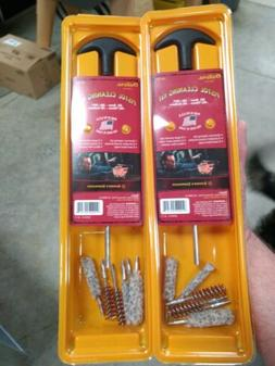2 Outers Pistol Cleaning Kit 22 9mm 40 45 38 357 10mm Calibe