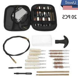 43 Pcs Set Handgun Cleaning Kit .22.357.38 9mm.45.40 Caliber