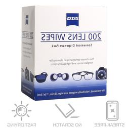 Zeiss Pre-Moistened Lens Cloths Wipes Glasses Camera Phone C