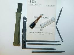 .308 / 7.62 M14 Cleaning Kit, Steel Rods, Brushes, Combo Too