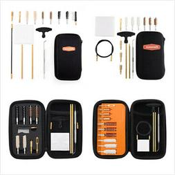 .357 Caliber 9mm Handgun Cleaning kit in Zippered Organizer