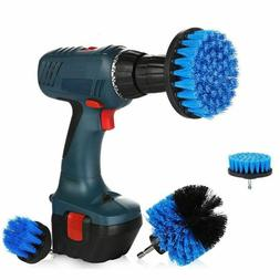 3Pcs/Set Full Electric Cleaning Drill Scrubber Brush Power H