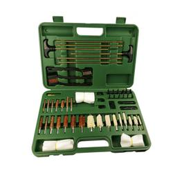 62 Piece Tactical Hunting Universal Gun Cleaning Kit Supplie