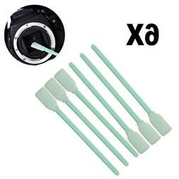 6Pcs Sensor Cleaning Kit Wet Lens CMOS CCD Cleaner Tool Swab