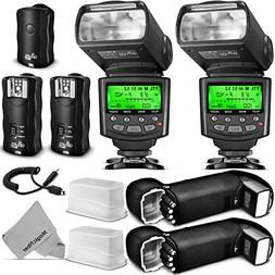 Altura Photo Studio Pro Flash Kit for Nikon DSLR Bundle with