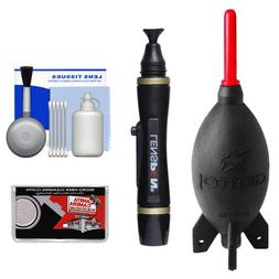 Giottos Rocket-Air Blower AA1900 Large + Lenspen Lens Pen Cl