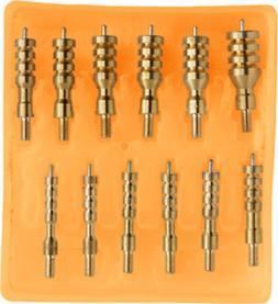 Hoppe's No. 9, 13-Piece Brass Jag Kit