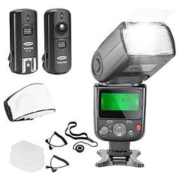 Neewer NW-670 TTL Flash Speedlite with LCD Display Kit for C