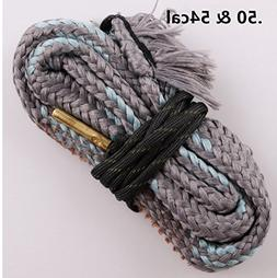New Bore Cleaner .50 Cal .54 Cal Gun Barrel Cleaning Rope Ri