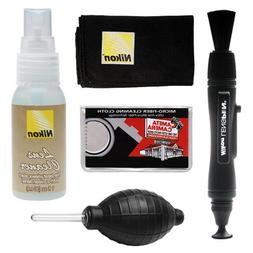 Nikon Cleaning Combo Kit: Nikon Lenspen + Anti-fog Cloth + S