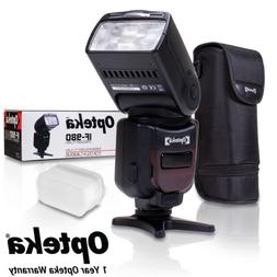 Opteka IF-980 E-TTL AF Dedicated Flash w/Bounce, Zoom, Tilt,