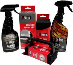 Weber Grill Cleaning Kit - Grill Spray Cleaner, Stainless St