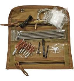 ab039t coyote tan universal gun cleaning kit
