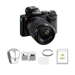 Sony Alpha A7 Digital Camera Bundle with 28-70MM Lens. Value