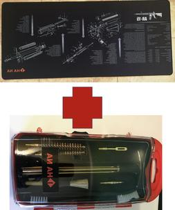 AR large gun cleaning mat AND cleaning kit SET