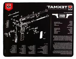 Tekmat Armorers Bench Mat Ultra 15''x20'' 1911 Black Gun Cle