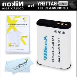 Battery Kit For Nikon COOLPIX B700, P900, P610, P600 Wi-Fi D