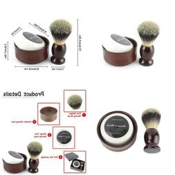 Youngster Age Beard Cleaning Kit Shaving Razor Set Pure Badg