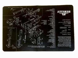 Beretta 92 Gun Cleaning Mat