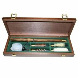 Bisley Shotgun Cleaning Kit 12 gauge in a Wooden box