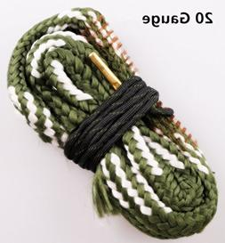New Bore Cleaner 20 GA Gauge Gun Barrel Cleaning Rope Rifle/