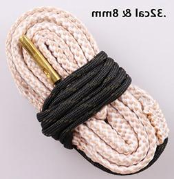 New Bore Cleaner .32 Cal & 8mm Cal Gun Barrel Cleaning Rope