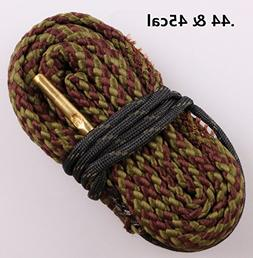 New Bore Cleaner .44 Cal .45 Cal Gun Barrel Cleaning Rope Ri