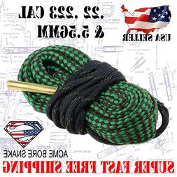 Boresnake .22 .223 5.56 Gun Rifle Cleaner Bore Snake Cleanin
