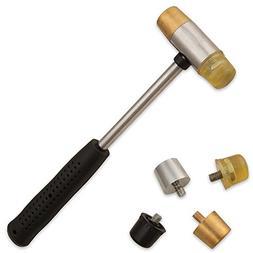 Brass Gunsmithing Hammer Nylon Face Non-marring Home Tools D