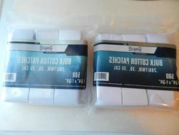 Gunslick 500-Count Bulk Cotton Patches