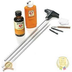 Cleaning Kit for .22-.255. caliber rifles pistols guns alumi