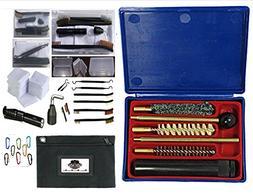 Readi USA Compact 18 PC Handgun Pistol Cleaning Kit | Field